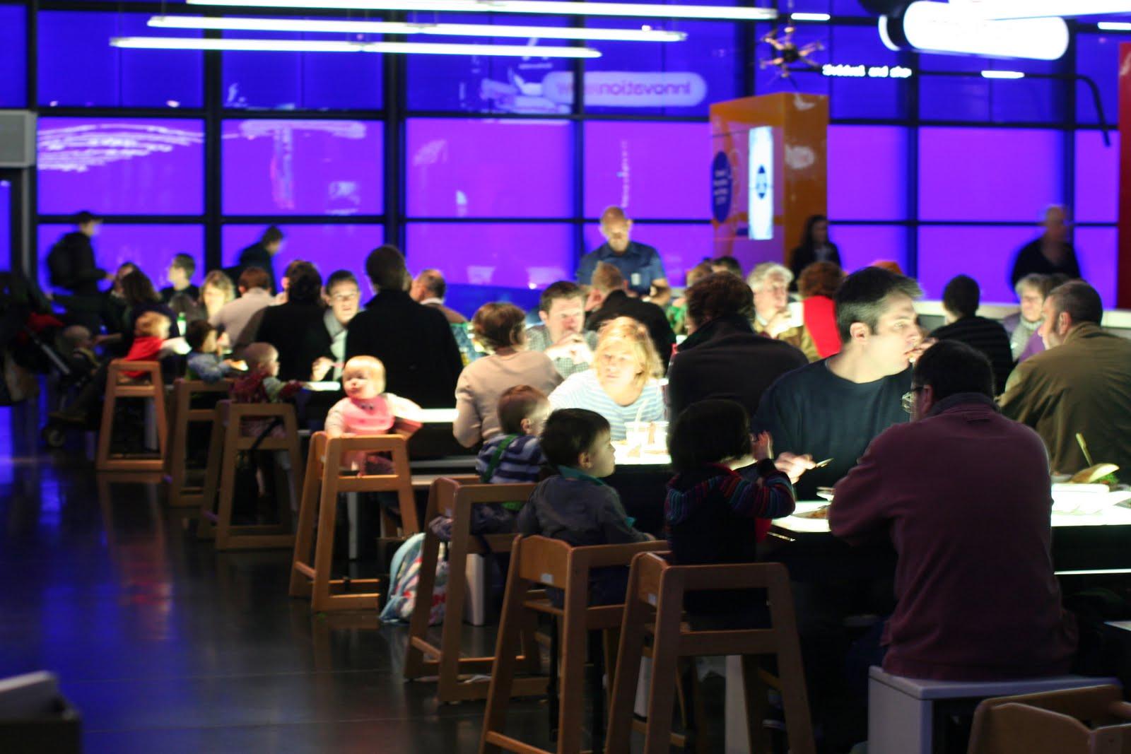 ロンドン科学博物館レストラン