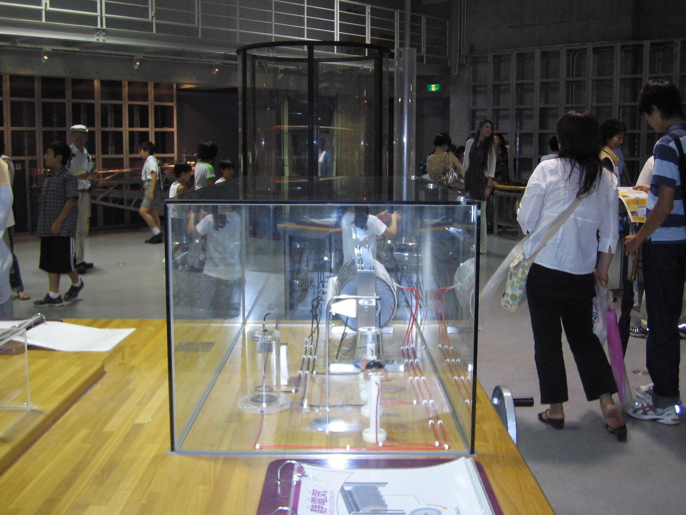 国立科学博物館 体験型展示