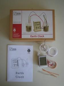 (写真1)地球電池キット