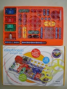 (写真2)電子回路キット